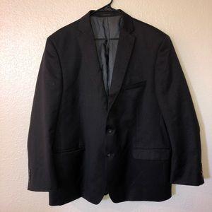 Calvin Klein 100% Wool Black Blazer